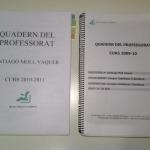 Las partes del Cuaderno del Profesor