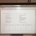 ¿Qué utilidad tiene la Pizarra Digital durante una prueba o examen?