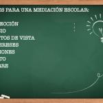 7 fases para la Mediación Escolar de un conflicto