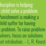 ¿Por qué debemos diferenciar disciplina y castigo en el aula?