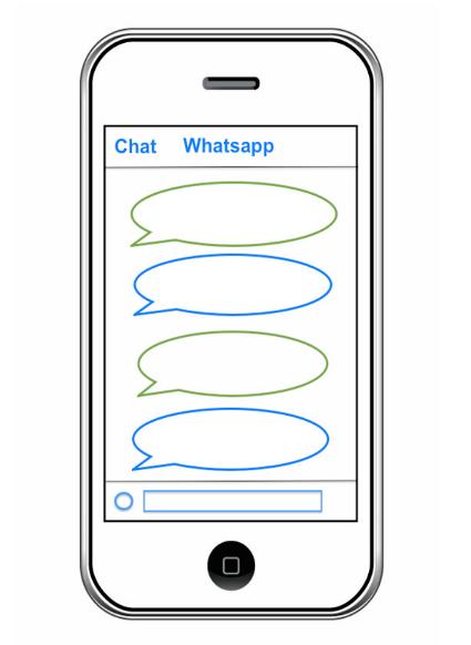 Tienes un whatsapp
