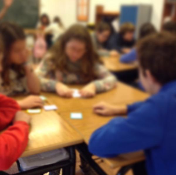 Alumnos durante la realización de la actividad de aprendizaje