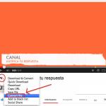 Cómo descargar un vídeo de youtube totalmente gratis y en unos minutos