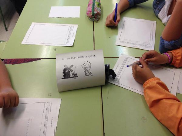 Actividad de aprendizaje cooperativo