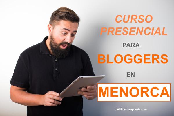 Curso para Bloggers en Menorca