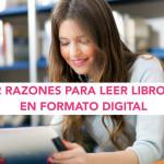 12 Razones para leer libros en formato digital