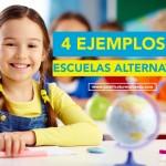 4 Ejemplos de escuelas alternativas. Otra educación es posible
