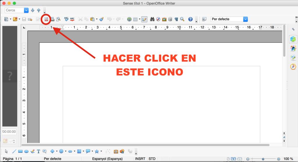 Cómo pasar documentos de word a pdf