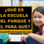Del QUÉ y el CÓMO al POR QUÉ y PARA QUÉ en Educación