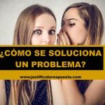Problemática compartida. ¿Cómo se soluciona un problema?