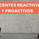 Diálogos reactivos y diálogos proactivos entre docentes